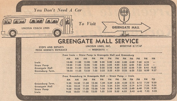 Greengate Mall Bus Service