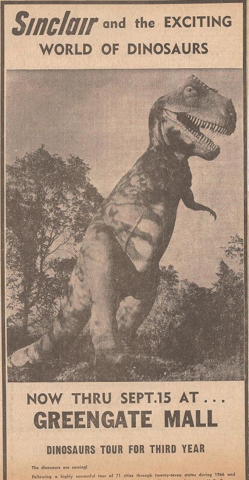 Sinclair Dinoland Exhibit