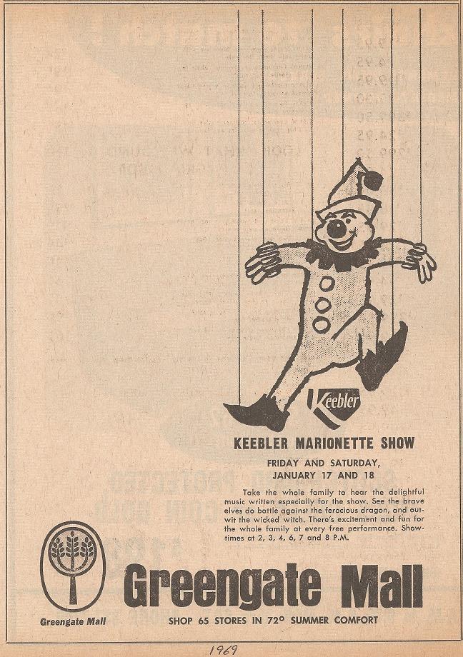 Keebler Marionette Show