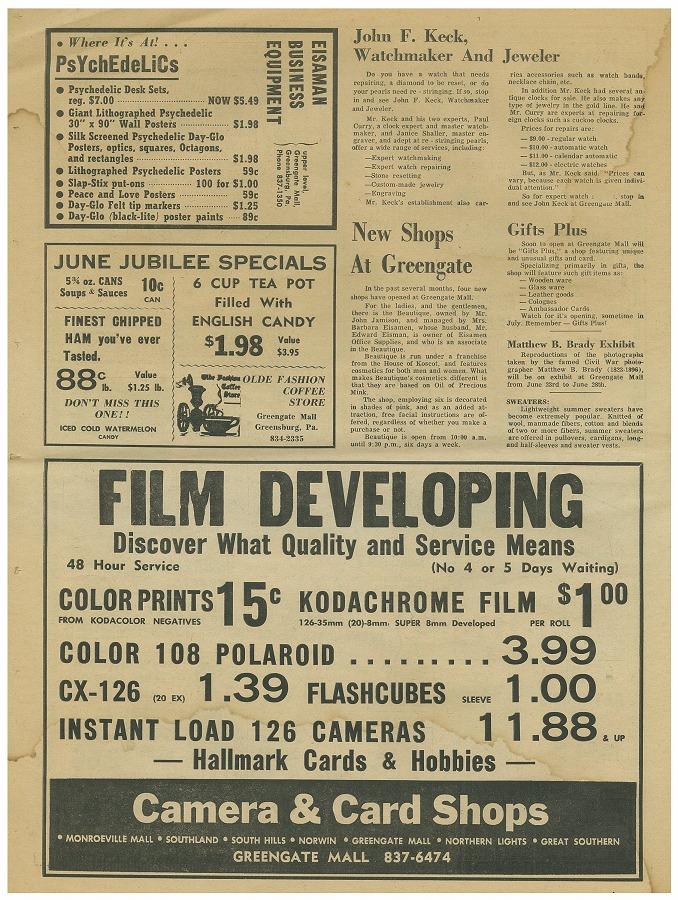 Newspaper Circular - Page 12 (June 3, 1969)