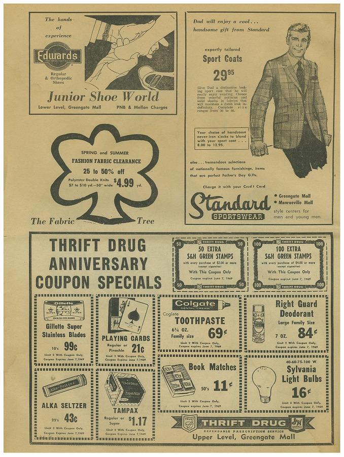 Newspaper Circular - Page 6 (June 3, 1969)