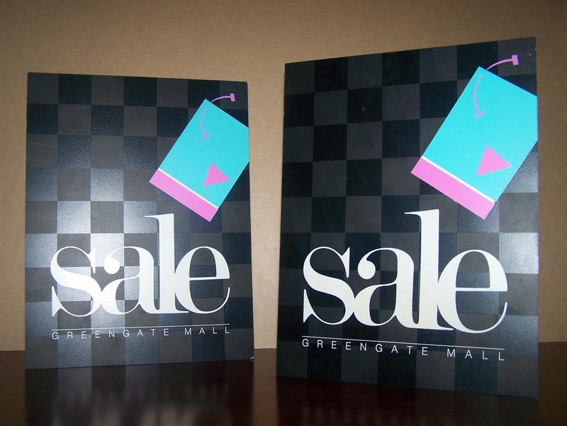 Sidewalk Sale Signage
